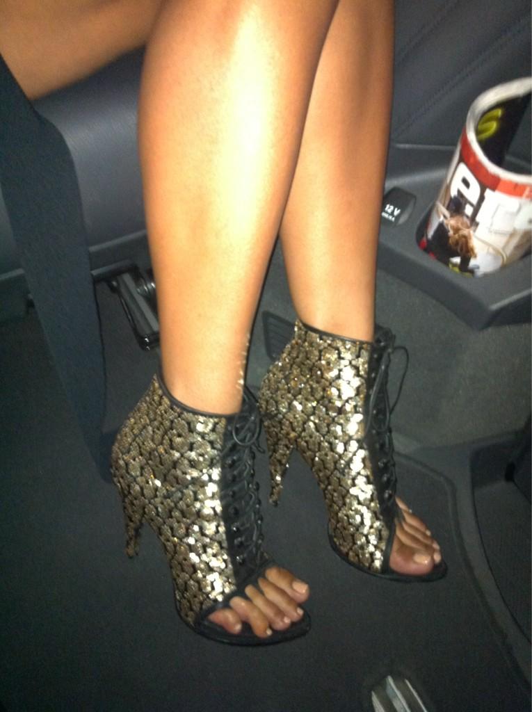 Ciara Toes… GO!